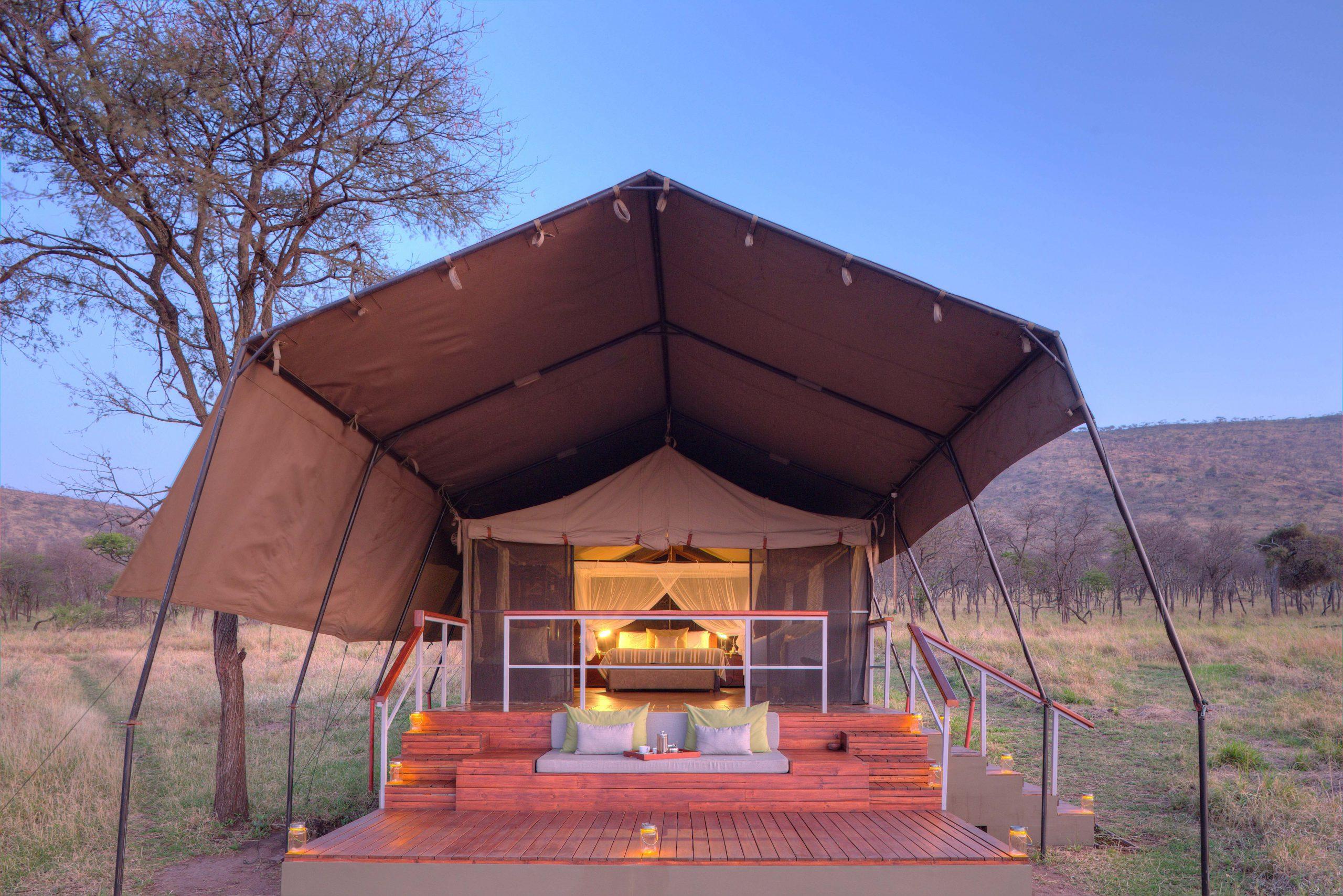 Dunia - Tent exterior - Asilia