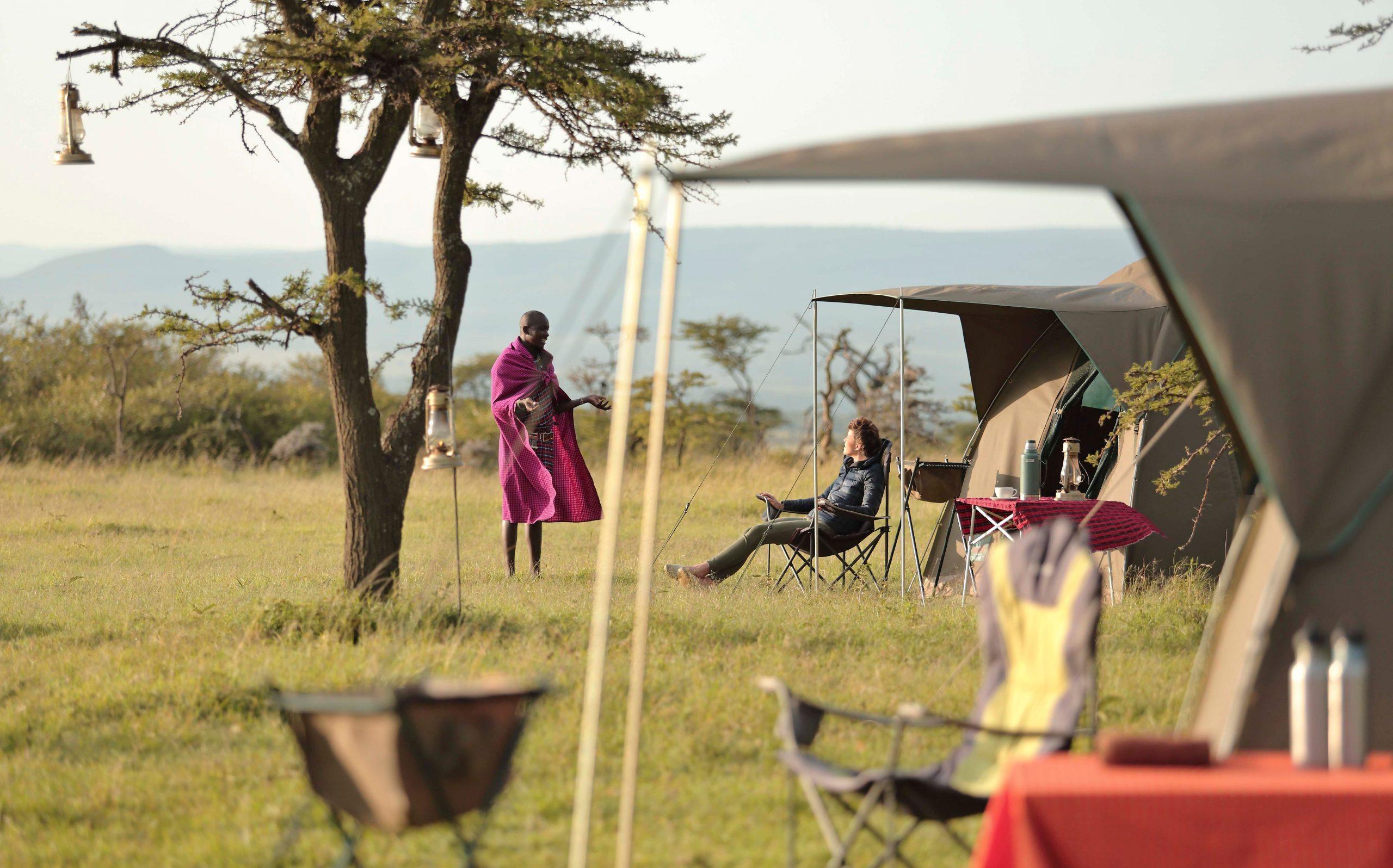 Encounter Mara Fly Camp - Asilia
