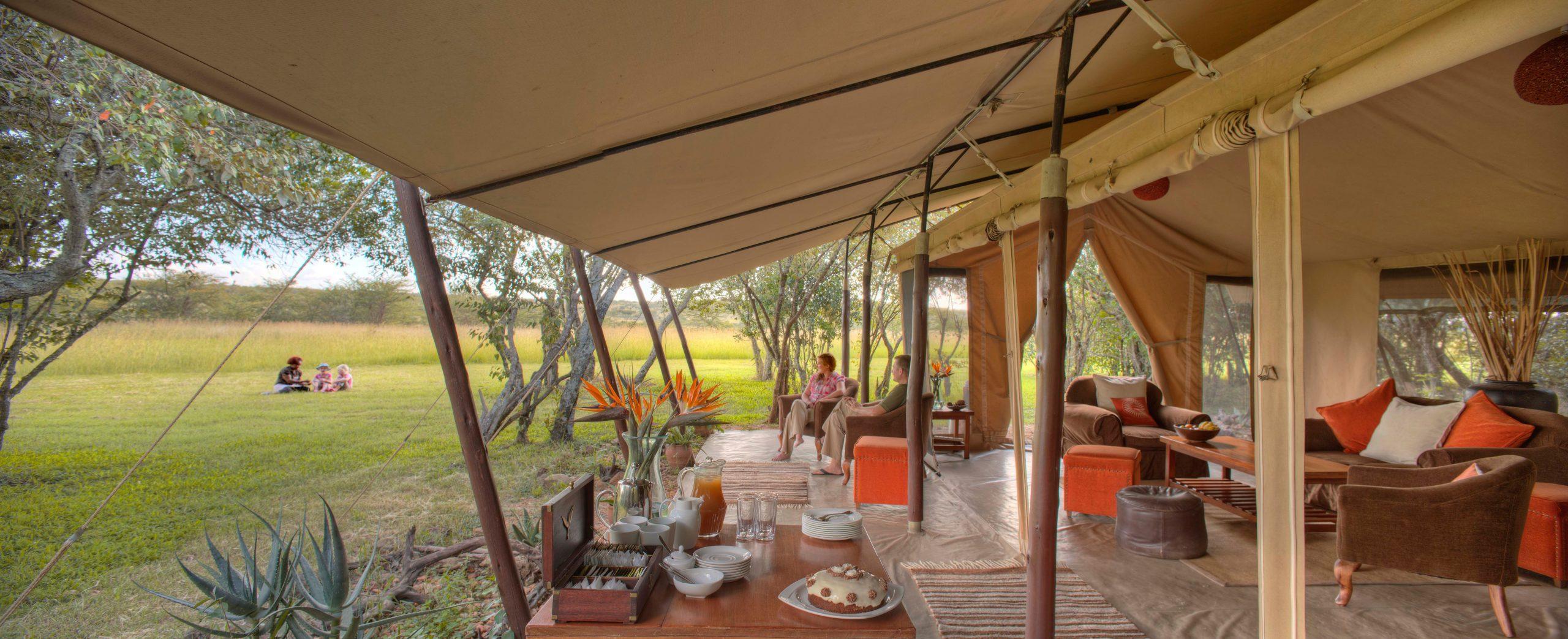 Encounter Mara Tea Lounge - Asilia