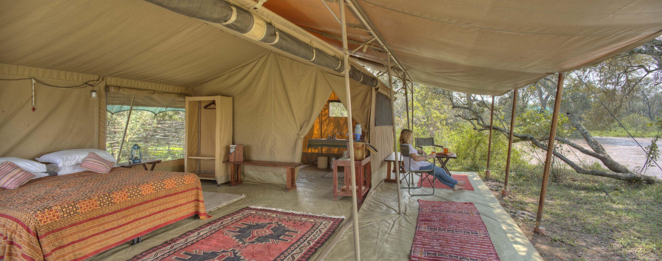 Ol Pejeta Bush Camp tent - Asilia